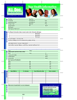 Health Information Document
