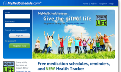 Mymedschedule Website