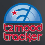T2 Mood Tracker allows users to monitor their moods on six pre-loaded scales